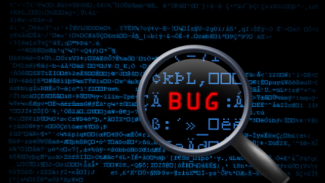 Find a bug? Let us know!